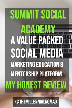 Are you willing to start an online business, but have no clue on where to start? Summit Social Academy offers education for the digital age. Learn the fundamentals of online business and how to leverage social media to grow your online presence. #onlinebusinesstraining #onlinebusinesstips #getstartedonline #reviewpost