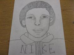 8th Grade Self Portrait 2012-2013