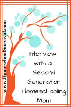 2nd Generation Homeschooling mom tells all about her homeschool experience!