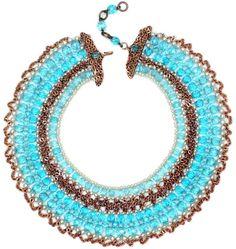 Coppola e Toppo - Collier Multirangs - Cristal Turquoise