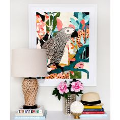 Parrot In The Jungle by Cozamia on THEHOME.COM.AU