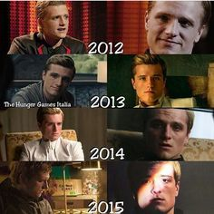 evolution of Peeta Mellark 😊
