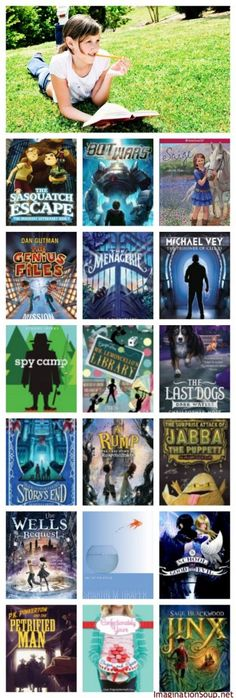 Middle Grade Chapter Books for Summer Reading #summerreading