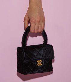 716dc5523755b4 90s chanel black box purse Coco Chanel, Chanel Pink, Chanel Black, Vintage  Chanel