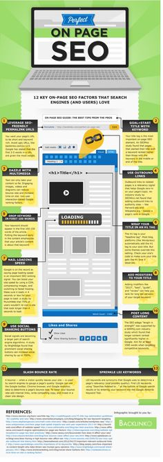 On Page SEO Infographic Visit my new website & tell me what you think about it please >> #bloggabout.com