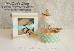 Craftaholics Anonymous® | Free Mother's Day Gift Packaging Printables