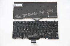 HU HG Magyar Billentyűzet Hungarian Keyboard for Dell Latitude E5270 E7270 black