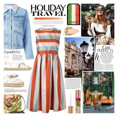 Italy by kumi-chan on Polyvore featuring polyvore fashion style RED Valentino Étoile Isabel Marant Salvatore Ferragamo Patricia Nash Teeez Whiteley clothing