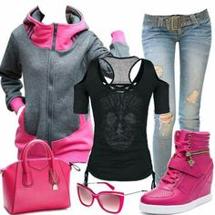 A good every day outfit for school and just for chilling out in.