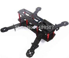 High Quality Carbon Fiber Mini 250 FPV Quadcopter Frame Mini Quad Frame Holder For ZMR250 QAV250