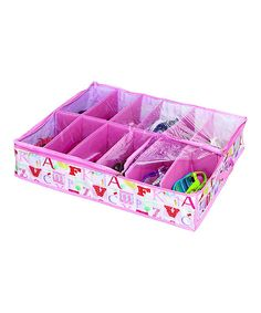 This Laura Ashley Home Olwphabet Under-Bed 12-Pair Shoe Organizer by Laura Ashley Home is perfect! #zulilyfinds