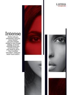 this is a great example of a sharp and modern layout. interestingly they also use the colour red in their design, and this really makes the image look sharp and passionate. So in order to convey the message of passion, the colour red is vital layout art Graphic Design Layouts, Graphic Design Posters, Editorial Layout, Editorial Design, Layout Inspiration, Graphic Design Inspiration, Magazine Design Inspiration, Cristiana Couceiro, Mises En Page Design Graphique