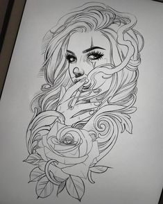 Tattoos Minus the eye scar and have a joint rather than a cig. Minus the eye scar and have a joint rather than a cig. Tattoo Girls, Girl Tattoos, Tattoos Pics, Small Tattoos, Flower Tattoos, Stencils Tatuagem, Tattoo Stencils, Tattoo Sketches, Art Sketches