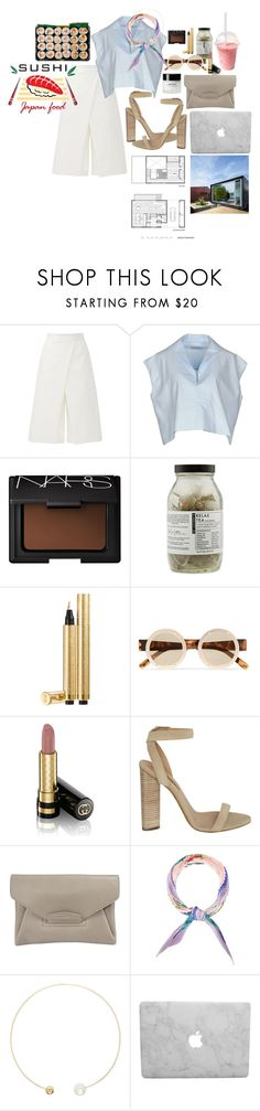 """Başlıksız #756"" by suana123 on Polyvore featuring moda, TIBI, Balenciaga, NARS Cosmetics, Dr. Jackson's, Yves Saint Laurent, Le Specs, Gucci, adidas Originals ve Hermès"