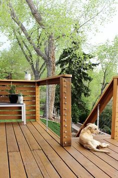 to Install DIY Cable Rail The full guide for how to install DIY cable rail in just one weekend. The easy way to give your old deck a modern look on a budget!Rail Rail or rails may refer to: Cable Railing, Deck Railings, Railing Ideas, Cable Fencing, Deck Railing Kits, Deck Railing Design, Deck Plans, Pergola Plans, Pergola Kits