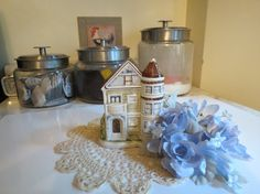 Otagiri 1981 Victorian House Bank by SweetWoodruffVintage on Etsy