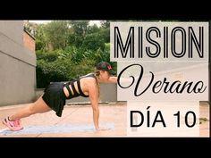 RETO: MISION VERANO 10- CUERPO ENTERO! | Naty Arcila | - YouTube