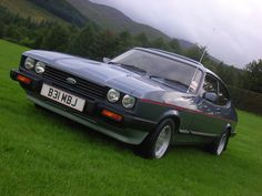 Ford Capri. My absolute favourite.                                                                                                                                                     More
