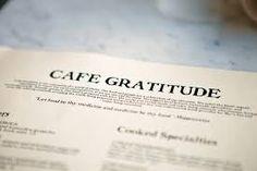 Cafe Gratitude, Venice