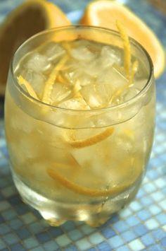 Lemon Grass Wine Cocktail