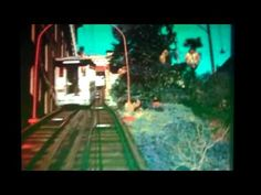 Clip of Angels Flight railway in its original location at 3rd St & Hill St on Bunker Hill in Los Angeles in the 1950s.
