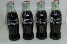4 Walt Disney World 25th Anniversary Coke Bottles Coca Cola 1996 Vintage   eBay