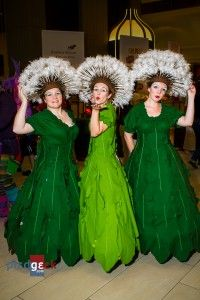 Hahahaha! Our dandelion costumes are on pinterest!