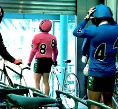 I had no idea track cycling (Keirin) was that popular in Japan. (Keirin: Speed Racers)