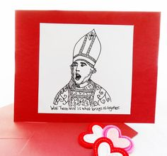Valentine's Day Funny Valentine Card Inspired by The Princess Bride, Anniversary Card,I love you, funny card,funny love card, Princess Bride on Etsy, $4.00