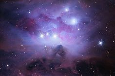 """NGC1973 (""""Running Man"""") by Ernie Rossi 