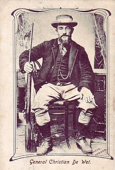 Gen Christiaan De Wet. Anglo Boer War