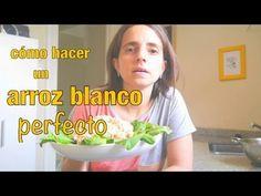 Cómo hacer un arroz blanco perfecto + Ensalada de arroz y atún - Paulina...