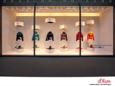 s.Oliver Visual Merchandising at s.Oliver Fashion Store Wuerzburg, Germany.