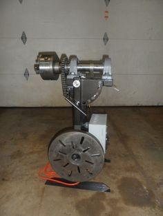 Homemade Rotory Weld Positioner Arduino/Stepper Motor Powered