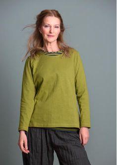 Pullover für Damen und Damen Shirts   Gudrun Sjödén wiesengrün 54 EUR