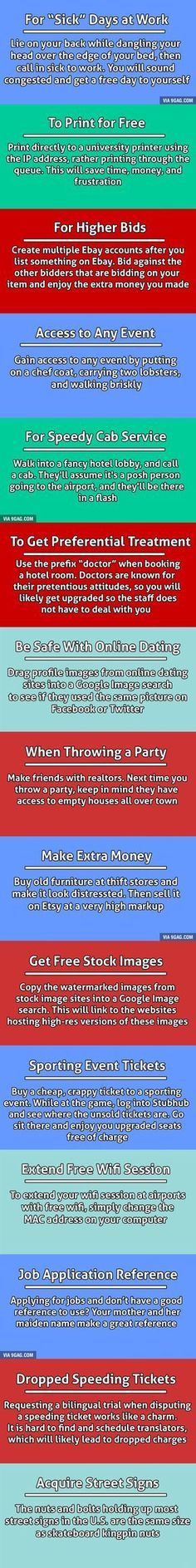 DIY Life Hacks & Crafts : 15 Unethical Life Hacks To Help You Get What You Want. - https://diyloop.com/lifehacks/diy-life-hacks-crafts-15-unethical-life-hacks-to-help-you-get-what-you-want-9/ #Lifehacks