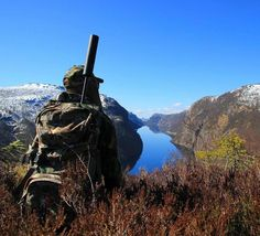 This is what I love about Norway beeing out in nature with awesome view  tag your hunting related pictures with  #swedenishunting for a chance to be featured in our account   @fjellgeit_ by swedenishunting