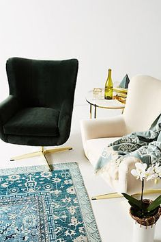 Shop designer furniture and unique furniture at Anthropologie from lush sofas to dining tables for your bedroom, living room, dining room and more. Oui Oui, Metal Chairs, Room Chairs, Office Chairs, Desk Chairs, Lounge Chairs, Home Decor Furniture, Cottage Furniture, Furniture Ideas