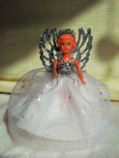 Christmas Fairy/Angel Vintage 50 /60 s Doll Christmas Tree Decoration Treetopper  | eBay
