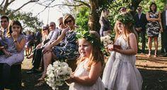 O casório foi realizado na Fazenda Lageado