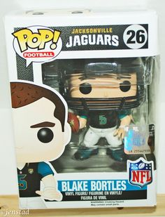"BLAKE BORTLES FUNKO POP TOY 3.75"" FIGURE NFL FOOTBALL JACKSONVILLE JAGUARS 2014…"
