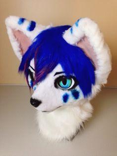 Japanese fursuit head I want it!!!!! *