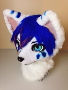Japanese fursuit head