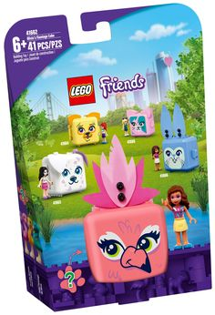 Lego Disney, Pet Toys, Doll Toys, Kids Toys, Lego Friends, Cubes, Flamingo Toy, Birthday Gifts For Kids, Building Toys