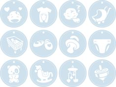Image detail for -Shery K Designs: Free SVG Baby Tags