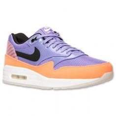 Nike Air Max 1 W Zwart Oranje