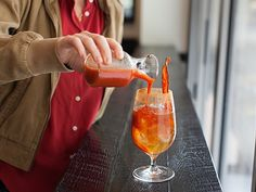 Bloody Mary with beer! I simlpy love bloody mary's, so this is a great twist on the old favorite!
