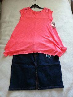 Shirt : jcpeenys Skirt : old navy