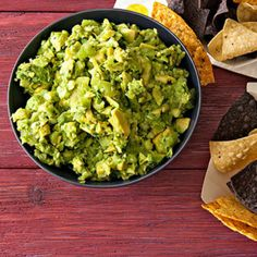 Zucchini-Kiwi Guac - Rachael Ray Every Day