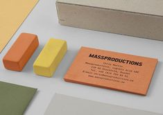 Massproductions - Brand Identity by BrittonBritton
